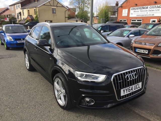 Used Audi Q3 2 0 Tdi Quattro S Line Plus 5dr For Sale In Preston