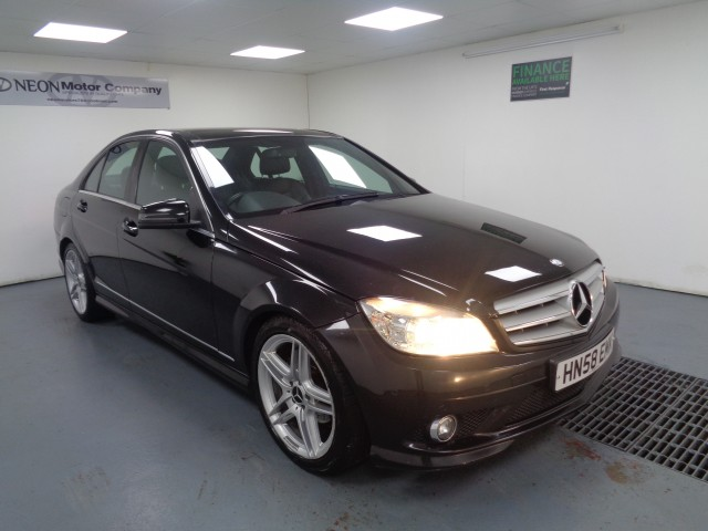 Used MERCEDES-BENZ C-CLASS 2.1 C220 CDI SPORT 4DR AUTOMATIC in West Yorkshire