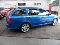 SKODA OCTAVIA 2.0 VRS ESTATE 2.0 TDI 6 SPEED 170 BHP METALLIC BLUE 1 PRE OWNER HPI CLEAR AA APPROVED DEALER