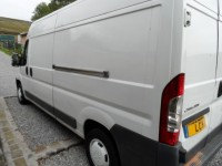 CITROEN RELAY 2.2 35 L3H2 ENTERPRISE HDI  2.2 DIESEL LWB HIGH ROOF SIDE LOAD PLY LINED LOW MILES 93K AA APPROVED