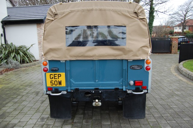 LAND ROVER SERIES 3 SOFT TOP