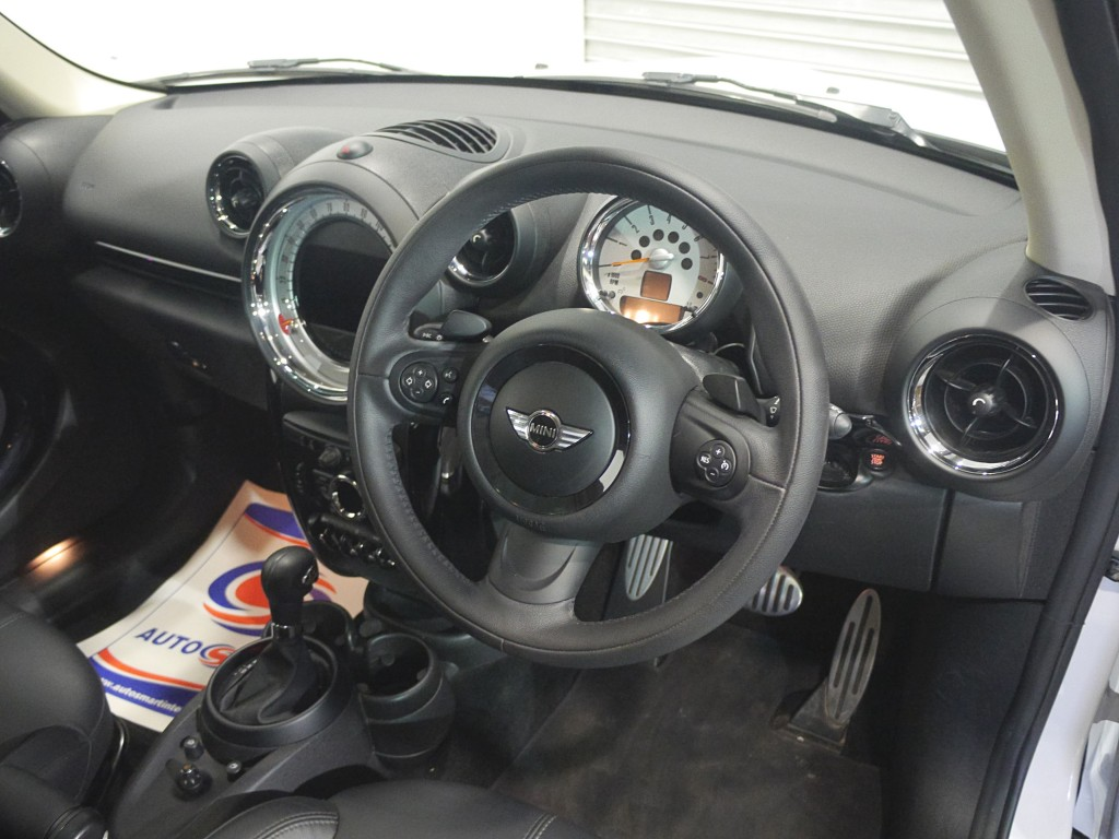 MINI COUNTRYMAN 1.6 COOPER S ALL4 5DR AUTOMATIC