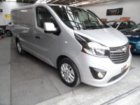 VAUXHALL VIVARO 1.6 BI TURBO 2700 L1 CDTI SPORTIVE A/C ALLOYS SAT NAV  AA APPROVED GREAT SPEC NO VAT HPI CLEAR