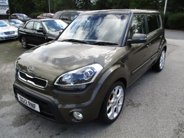 KIA SOUL 1.6 CRDI HUNTER 5DR