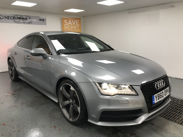 Used AUDI A7 3.0 TDI QUATTRO S LINE 5DR AUTOMATIC in West Yorkshire