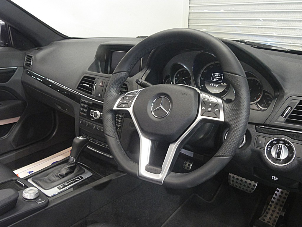 MERCEDES-BENZ E-CLASS 1.8 E250 CGI BLUEEFFICIENCY SPORT ED125 2DR AUTOMATIC