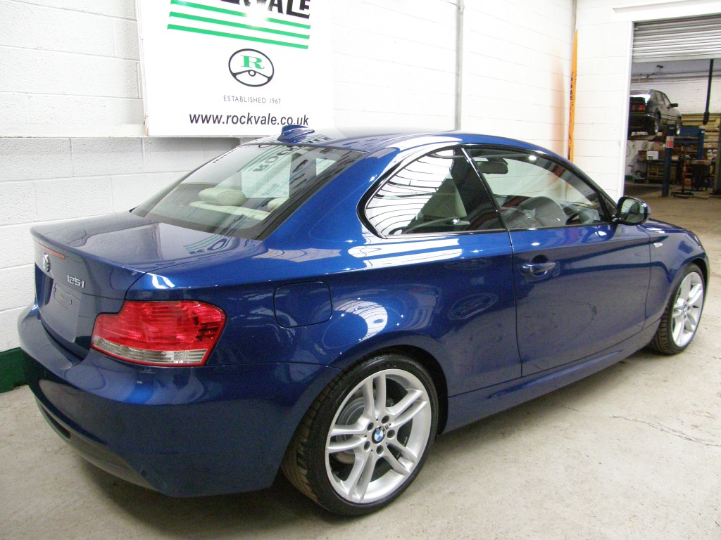BMW 1 SERIES 3.0 125I M SPORT 2DR AUTOMATIC