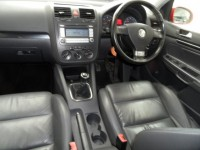 VOLKSWAGEN GOLF GT SPORT TDI 140 5 DOOR HATCH BRIGHT RED - BLACK LEATHER HEATED SPORT SEATS A/C ALLOYS FSH 2 OWNERS