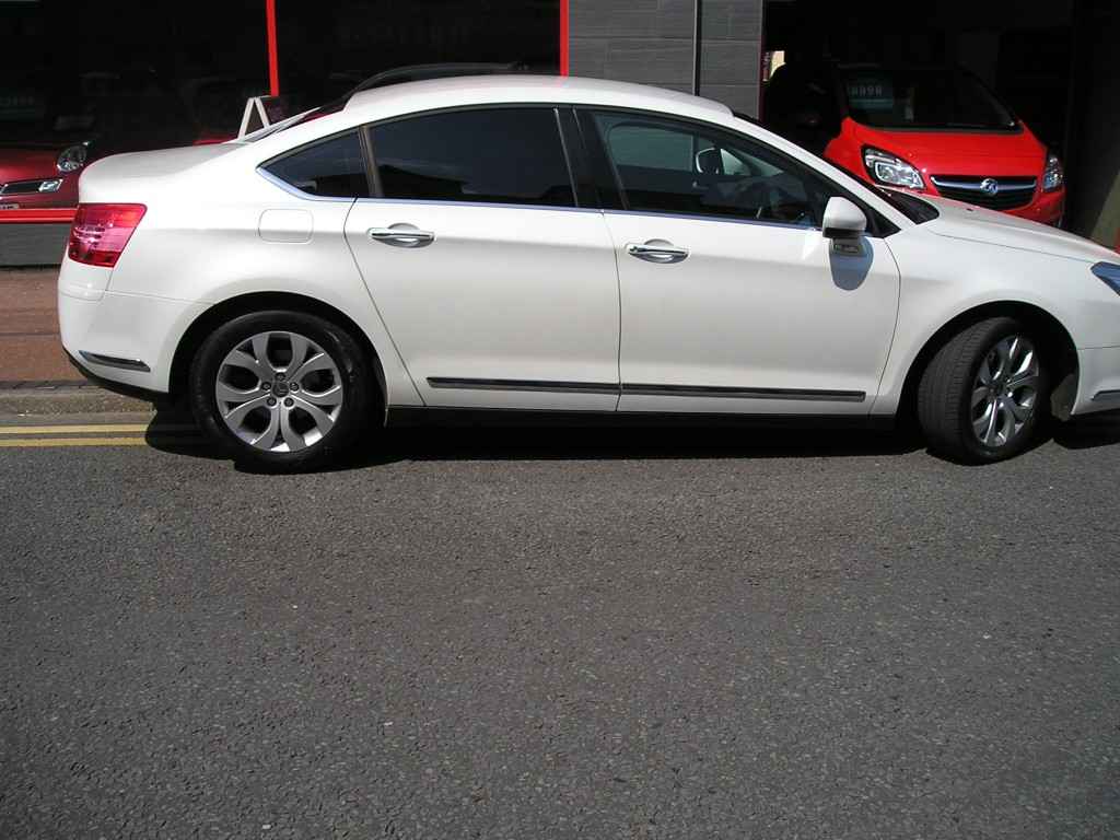CITROEN C5 2.0 EXCLUSIVE HDI 4DR AUTOMATIC
