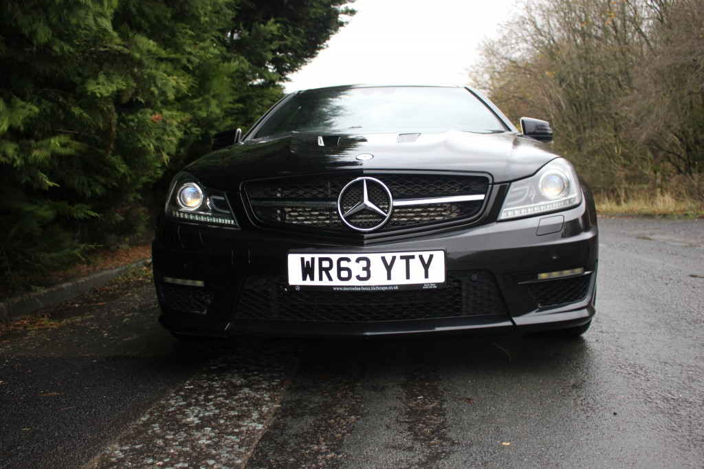 Used MERCEDES-BENZ C-CLASS 6.2 C63 AMG EDITION 2DR AUTOMATIC in Lancashire