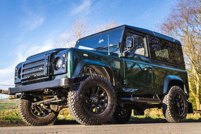 Used LAND ROVER Defender 90 CSW LHD 200 TDi  in Lancashire