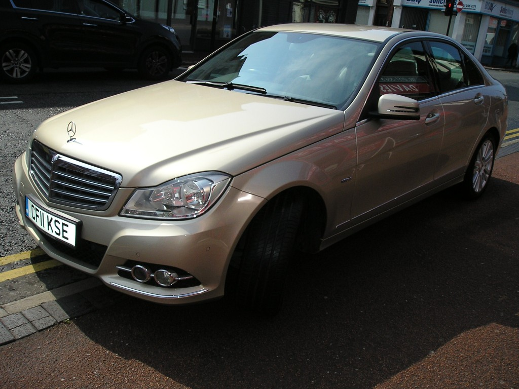 MERCEDES-BENZ C-CLASS 2.1 C220 CDI BLUEEFFICIENCY ELEGANCE 4DR AUTOMATIC