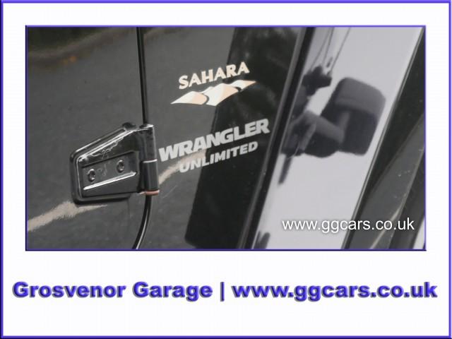 2009 (09) JEEP WRANGLER 2.8 SAHARA UNLIMITED 4DR