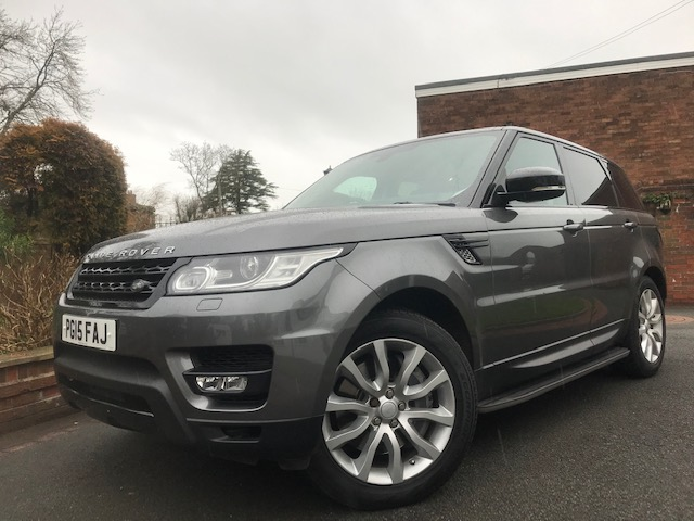 2015 (15) LAND ROVER RANGE ROVER SPORT 3.0 SDV6 HSE DYNAMIC 5DR AUTOMATIC