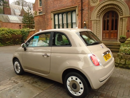 2013 (13) FIAT 500 1.2 COLOUR THERAPY 3DR