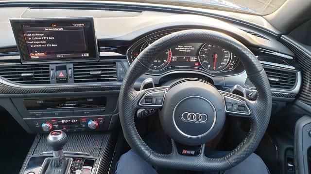 2017 (17) AUDI RS6 4.0 RS6 PLUS AVANT TFSI QUATTRO 5DR AUTOMATIC