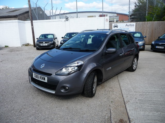 2012 (61) RENAULT CLIO 1.5 EXPRESSION DCI 5DR