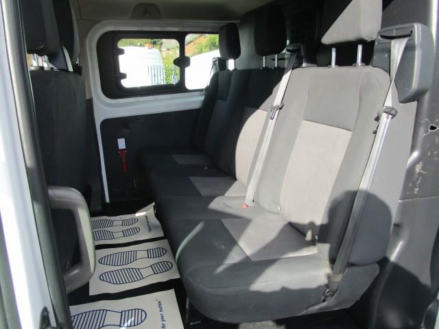 2018 (18) FORD TRANSIT CUSTOM 320 DCIV L2 H1 CREW VAN DCIV 2.0 320 L2 H1 - AIR CON - FSH