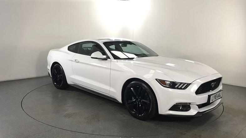 2018 FORD MUSTANG 2.3 ECOBOOST 2d AUTO 313 BHP