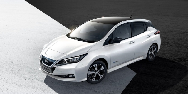 Be One Of the First To Drive the 2018 Nissan Leaf with Crosby Park Nissan