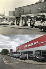 Pictures showing 5 decades of change at the Colliers Garage site
