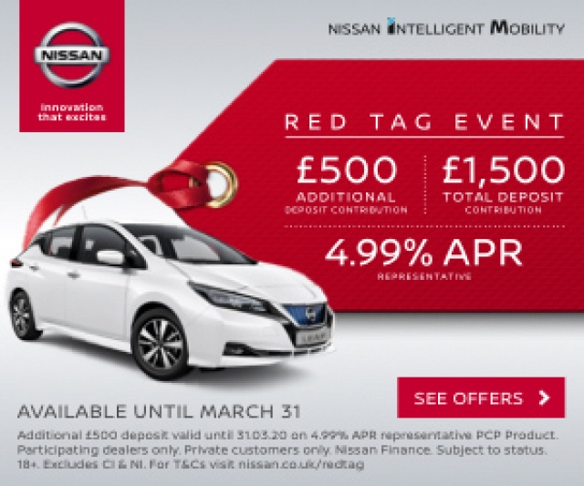 NISSAN RED TAG EVENT!