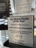 Kia Global Dealer of the Year 2020- Premier Kia Dukinfield