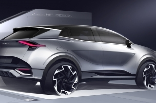 Kia reveals first sketches of the all-new European-market Sportage ahead of