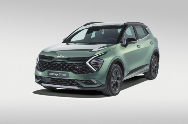 The all-new Kia Sportage – A pioneering SUV designed and developed for Euro