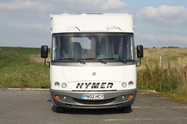 HYMER B584 2.8 JTD A-CLASS