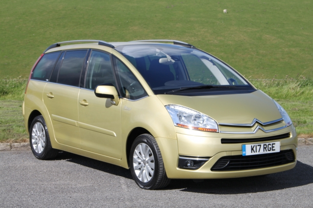 CITROEN C4 PICASSO 2.0 GRAND EXCLUSIVE HDI EGS 5DR SEMI AUTO