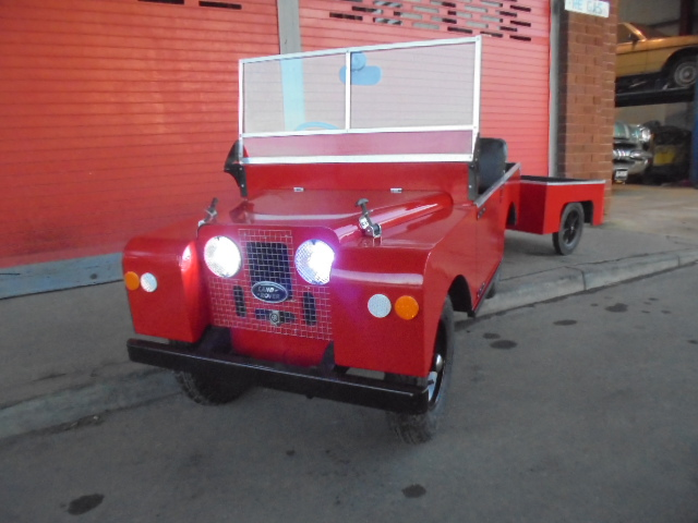 LAND ROVER series 2a convertible