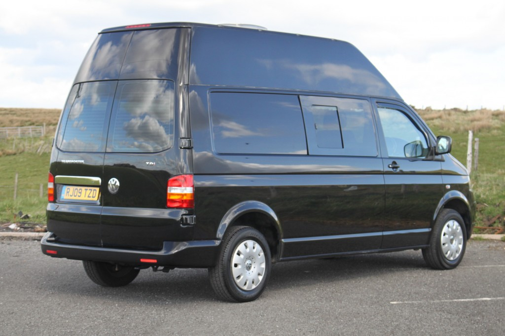 VOLKSWAGEN NOMAD, LWB HIGH ROOF, T5 3/4/5  BERTH, CHOICE OF LAYOUTS:  BATHROOM TOILET ETC