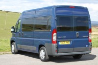 PEUGEOT NOMAD HIGH ROOF 2.2TDi  6 SPEED, 2/3/4 BERTH, BATHROOM, CHOICE OF LAYOUTS AIR CON, DIESEL HEATER