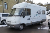 HYMER S630 A CLASS 2.9TD INTERCOOLED,  4 BERTH REAR LOUNGE, GRP CURVED EDGE ROOF, LHD, MANY EXTRAS