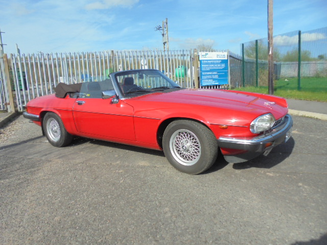 JAGUAR XJ-S 5.3 CONVERTIBLE 2DR AUTOMATIC