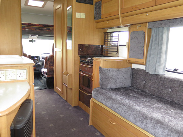 AUTO-TRAIL CHEYENNE 634 REAR LOUNGE, 4 BERTH, 2.8TDi