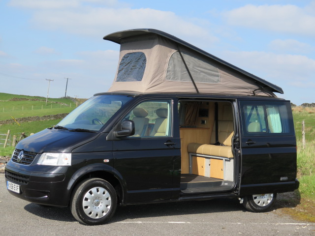 DEVON MOONRAKER VW T5, 4 BERTH, POP TOP