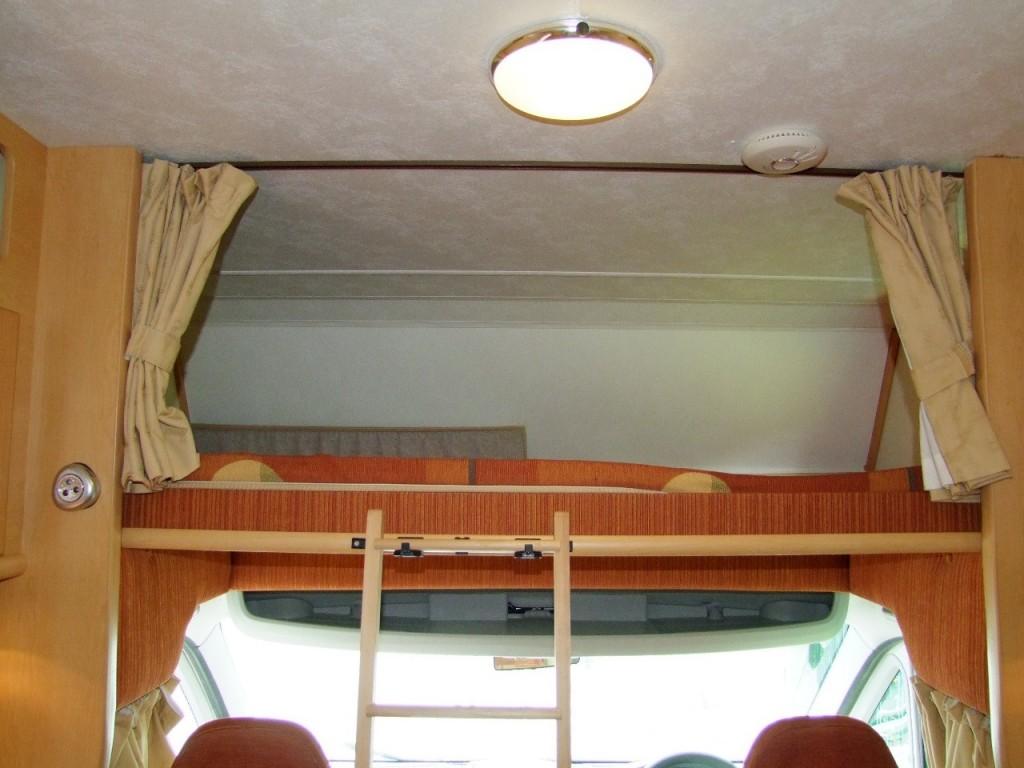 ELDDIS AUTOQUEST 130  5 BERTH, 4 SEAT BELTS, 2.2 16V HDi