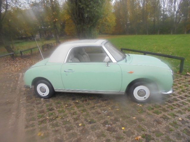 NISSAN FIGARO 1.0 FK10 2DR AUTOMATIC