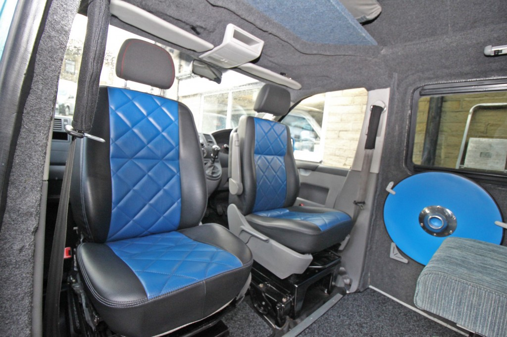 VOLKSWAGEN TRANSPORTER NOMAD HIGH ROOF CAMPER, 4 BERTH, 4 SEAT BELT