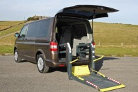 VOLKSWAGEN TRANSPORTER WHEELCHAIR ACCESSIBLE