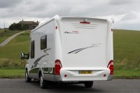HOBBY TOSKANA 650 , TWIN SINGLE LOW BEDS, 3.5T GVW, 130HP,  6 SPEED, LOTS OF EXTRAS, ONLY 6.9M LONG