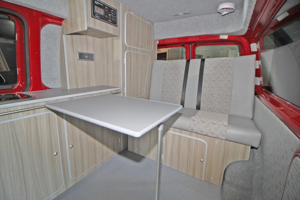 VOLKSWAGEN TRANSPORTER MEDIUM HIGH ROOF CAMPER
