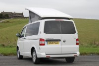 VOLKSWAGEN TRANSPORTER POP-TOP, 4/5 BERTH, 2.0 TDi, SLIDING RIB BED