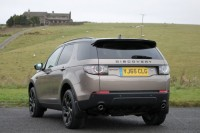 LAND ROVER DISCOVERY SPORT 2.0 TD4 180 HSE BLACK 5DR AUTOMATIC