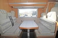MOBILVETTA P81 Top Driver Low Profile, 4 Berth 4 Belts, Great Layout, Rear Lounge, Front Dinette.  3400Kg GVW