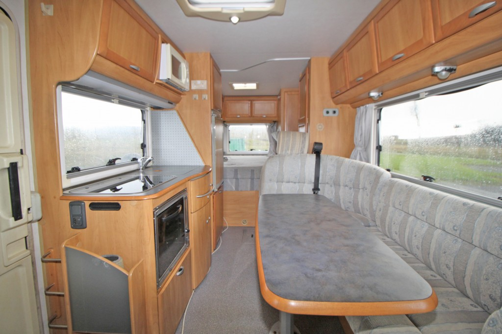 HYMER B654 2.8JTD FIXED REAR BED, 3500KG GVW, A CLASS, ALKO CHASSIS.