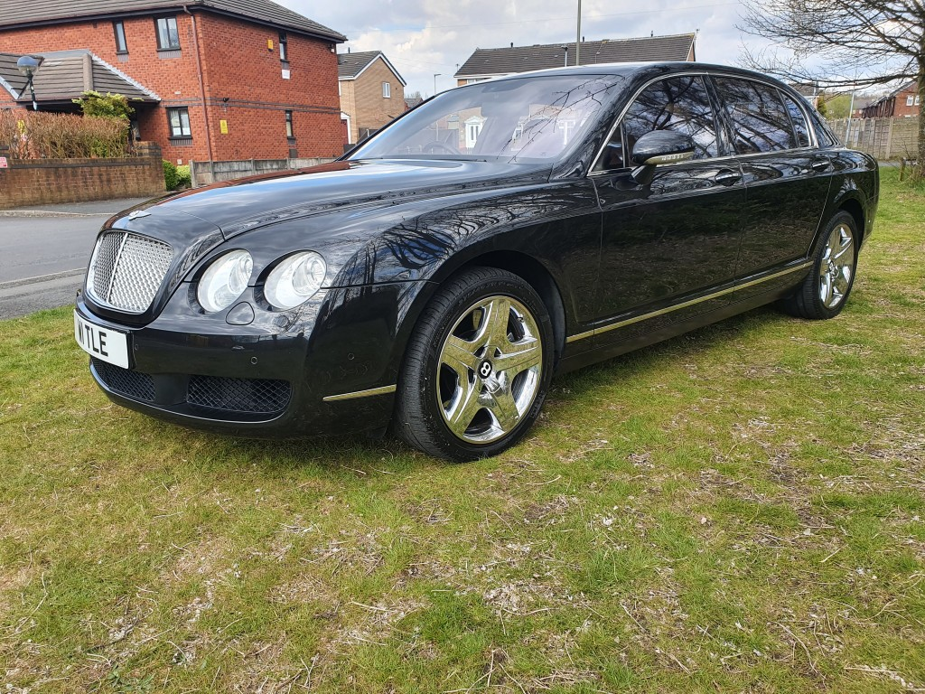 BENTLEY CONTINENTAL FLYING SPUR 6.0 FLYING SPUR 5 SEATS 4DR AUTOMATIC
