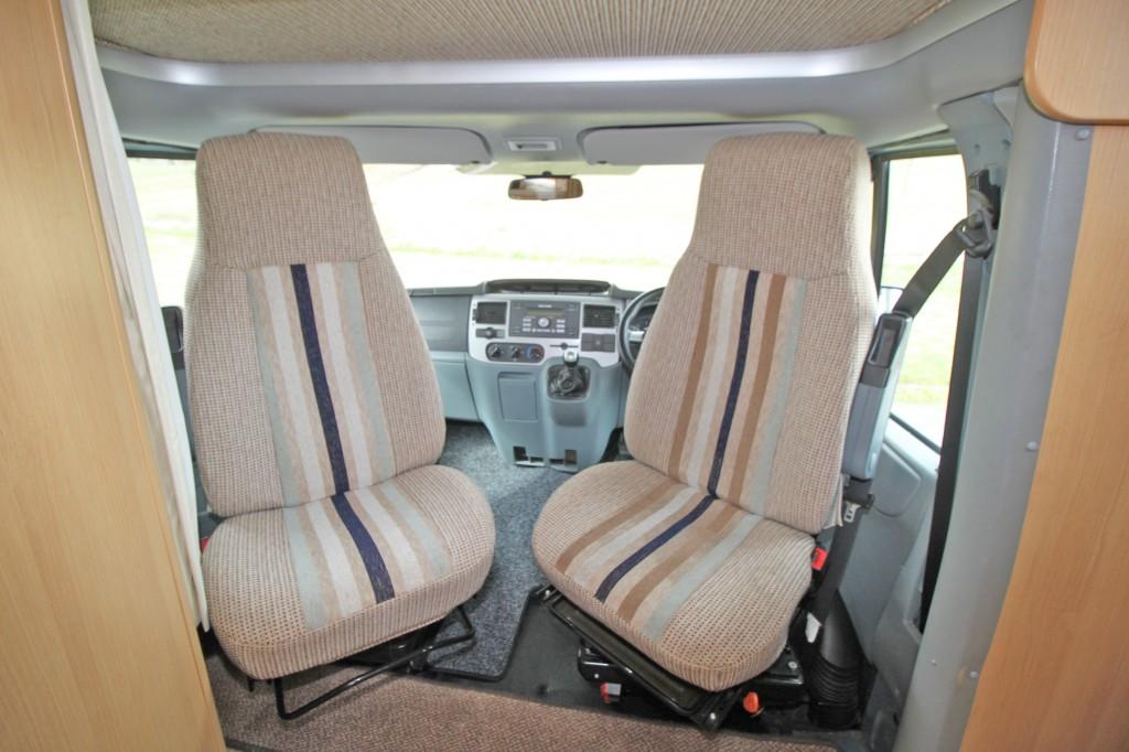 TEC Freetec 598 4 Berth 4 Seat Belt Rear Lounge